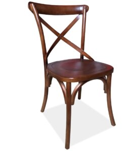 Drewniane krzesło w stylu vintage lars iii