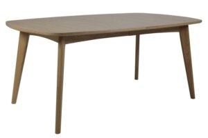 Fornirowany stół jadalniany na czterech nogach marte