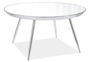 Stylowy stolik bora b z lustrzanym blatem