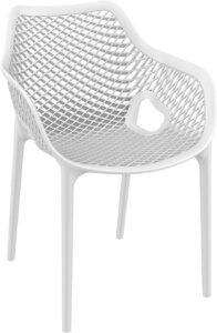 Krzesło do kawiarni z tworzywa sztucznego grid xl