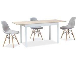 Rozkładany stół do jadalni horacy 125-170×75