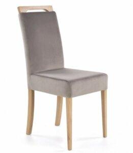 Krzesło z miękkim siedziskiem clarion