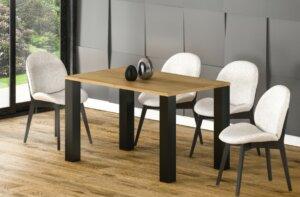 Stół juka 170 z blatem 80×80 rozkładany do 170 cm