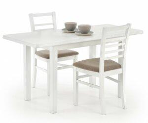 Rozkładany stół do jadalni dinner biały