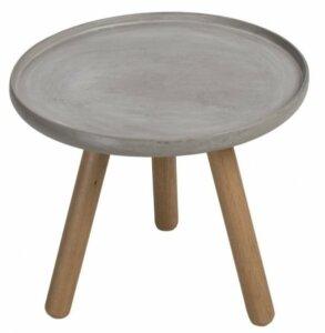 Mały stolik z betonowym blatem ozzy