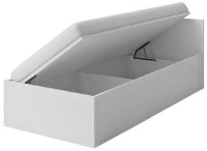 Dziecięce łóżko piccolo 14x z pojemnikiem – 3 kolory biały