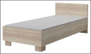 Dziecięce łóżko piccolo 15x – dąb sonoma