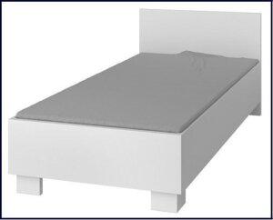 Dziecięce łóżko piccolo 15x – białe