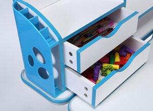 Dziecięce biurko z nadstawką i regulacjami bologna