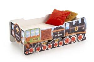 Łóżko z szufladą do pokoju dziecka lokomo