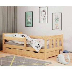 Łóżko do pokoju dziecięcego kacper – sosna