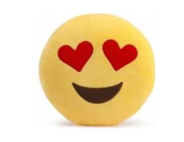 Poduszka emoji zakochany
